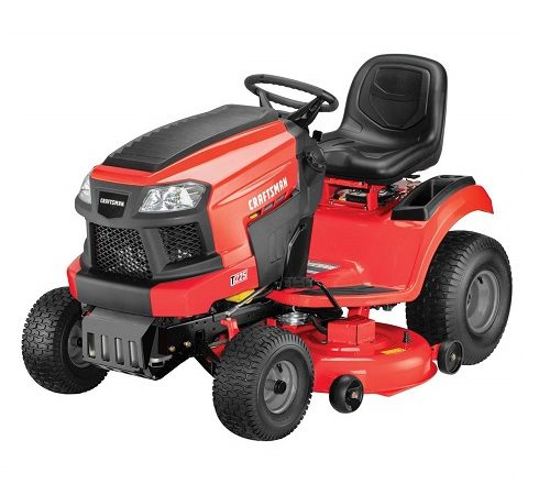 Craftsman T225 Gas Powered Riding Lawn Mower Review